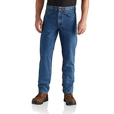 Straight Fit Heavyweight 5-Pocket Tapered Jean
