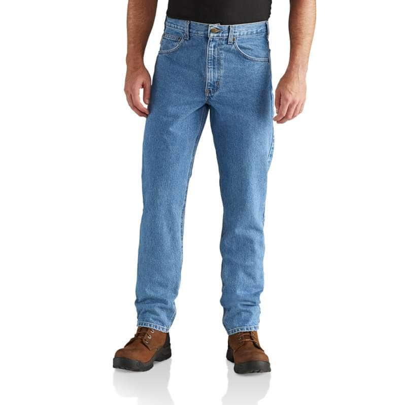 Carhartt  Stonewash Straight Fit Heavyweight 5-Pocket Tapered Jean