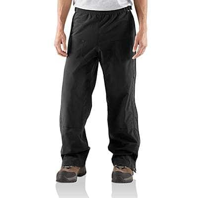 Carhartt Men's Black Shoreline Pant - front