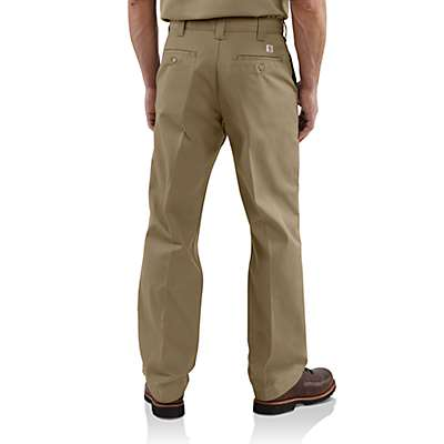 Carhartt Men's Navy Twill Work Pant - back