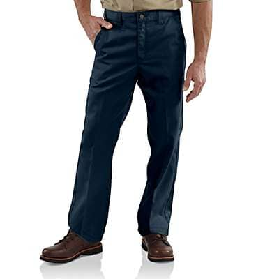 Carhartt Men's Navy Twill Work Pant - front