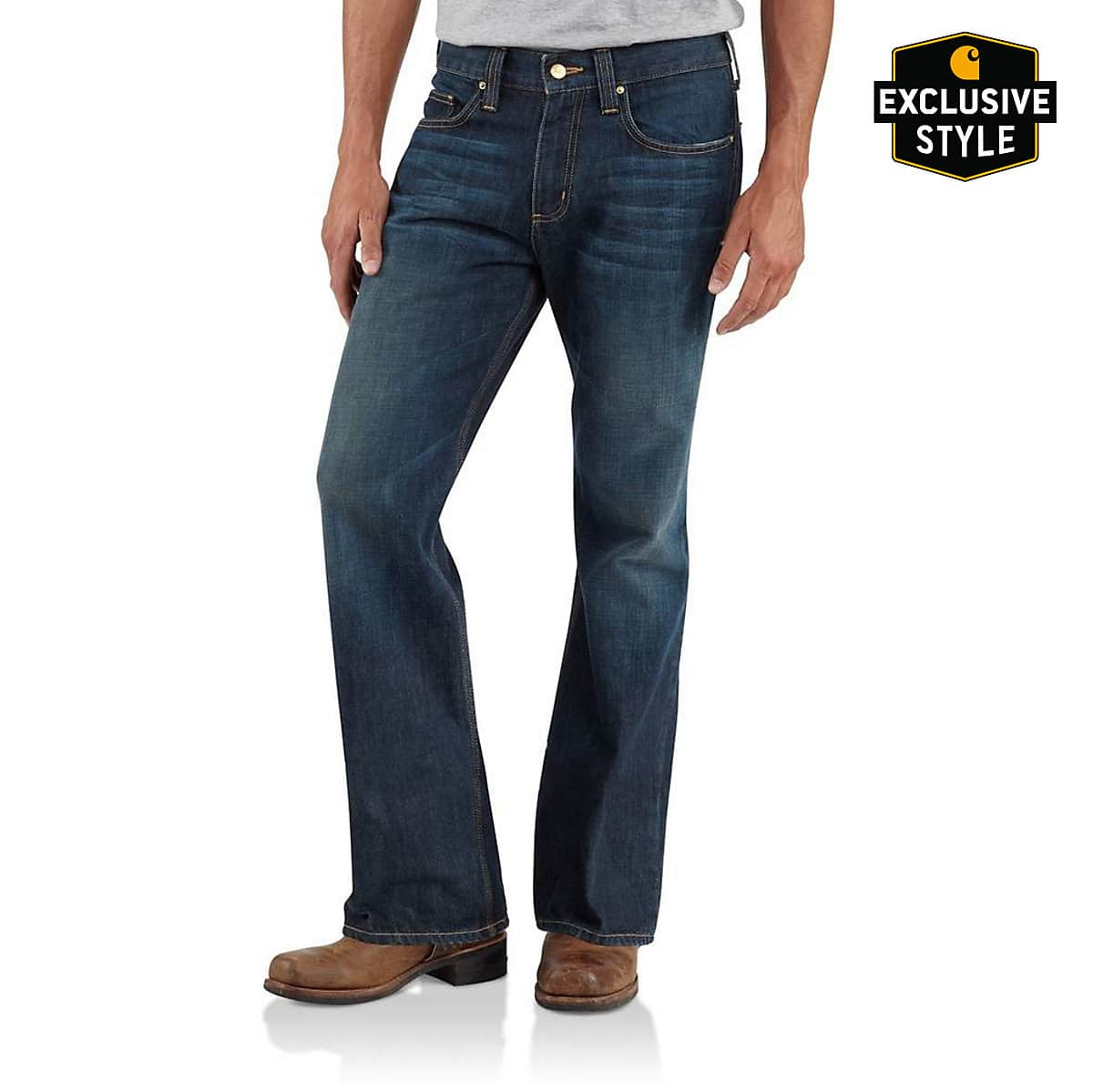5dd4ba986a7 Men's Series 1889® Relaxed-Fit Boot Cut Jean B310 | Carhartt