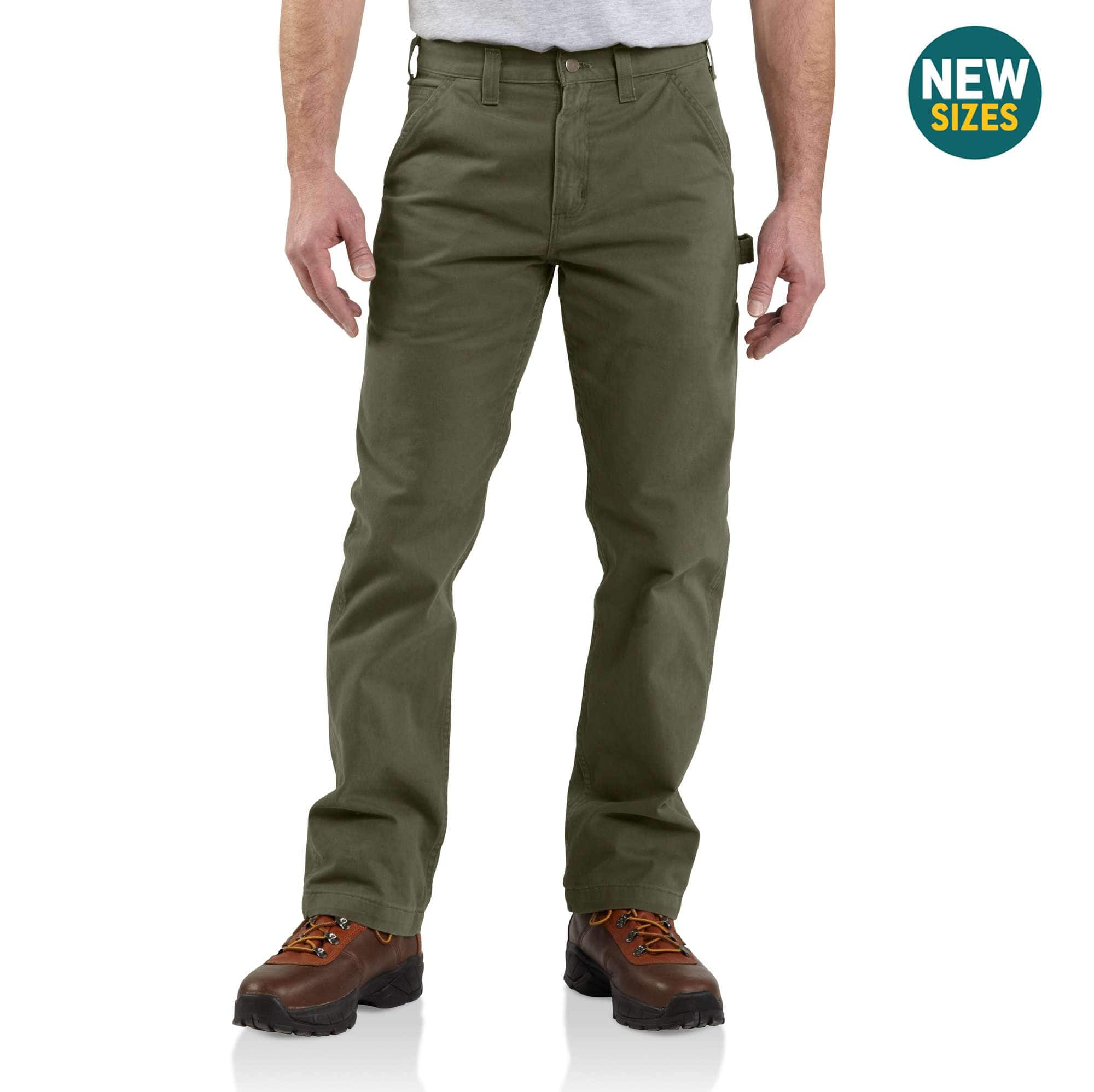 09551e4ff48937 Men s Washed Twill Relaxed Fit Work Pant B324