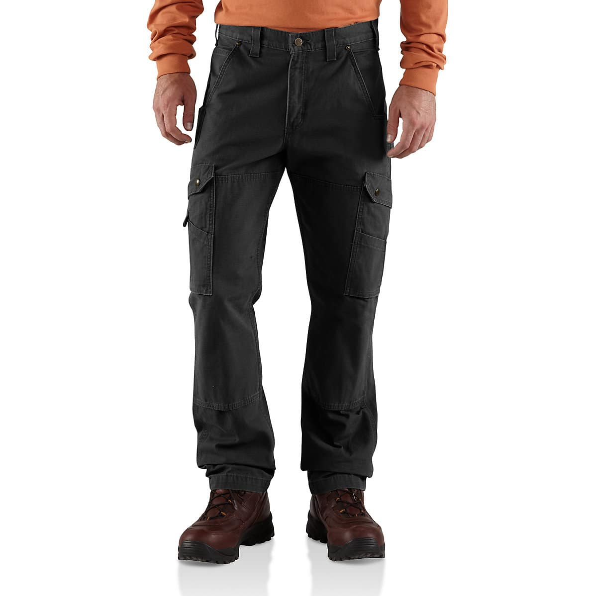 7c25e1e0dd Men's Cotton Ripstop Relaxed Fit Double-Front Cargo Work Pant | Carhartt