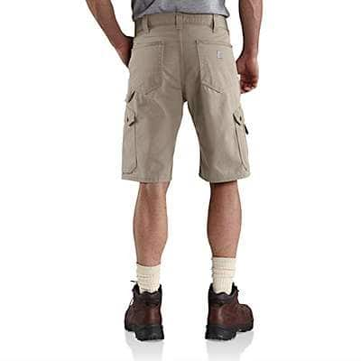 Carhartt  Black COTTON RIPSTOP CARGO WORK SHORT - back