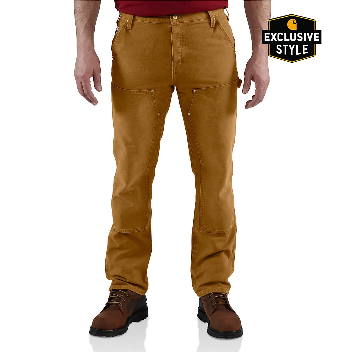 2e37e98a1e8 Men's Series 1889® Relaxed-Fit Double-Front Work Dungaree | Carhartt