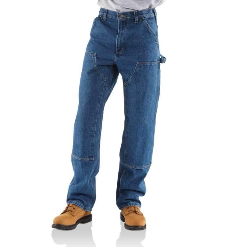 Carhartt  Darkstone Loose Fit Heavyweight Denim Double-Front Utility Logger Jean