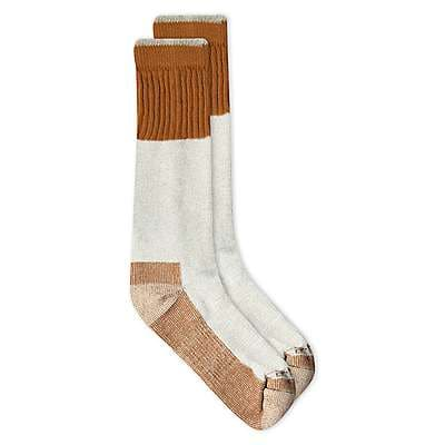 Carhartt Boys' Carhartt Brown Cold Weather Boot Sock - front
