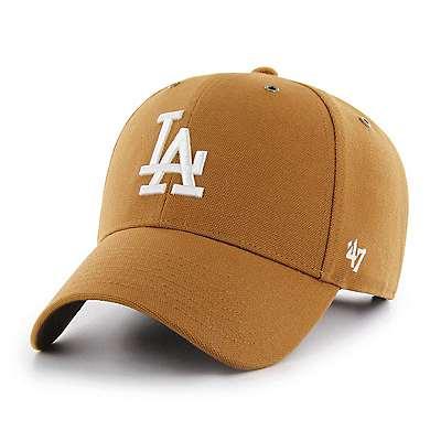 Carhartt Men's Carhartt Brown Los Angeles Dodgers Carhartt x '47 MVP - front