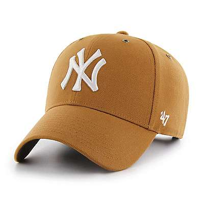 Carhartt Men's Carhartt Brown New York Yankees Carhartt x '47 MVP - front