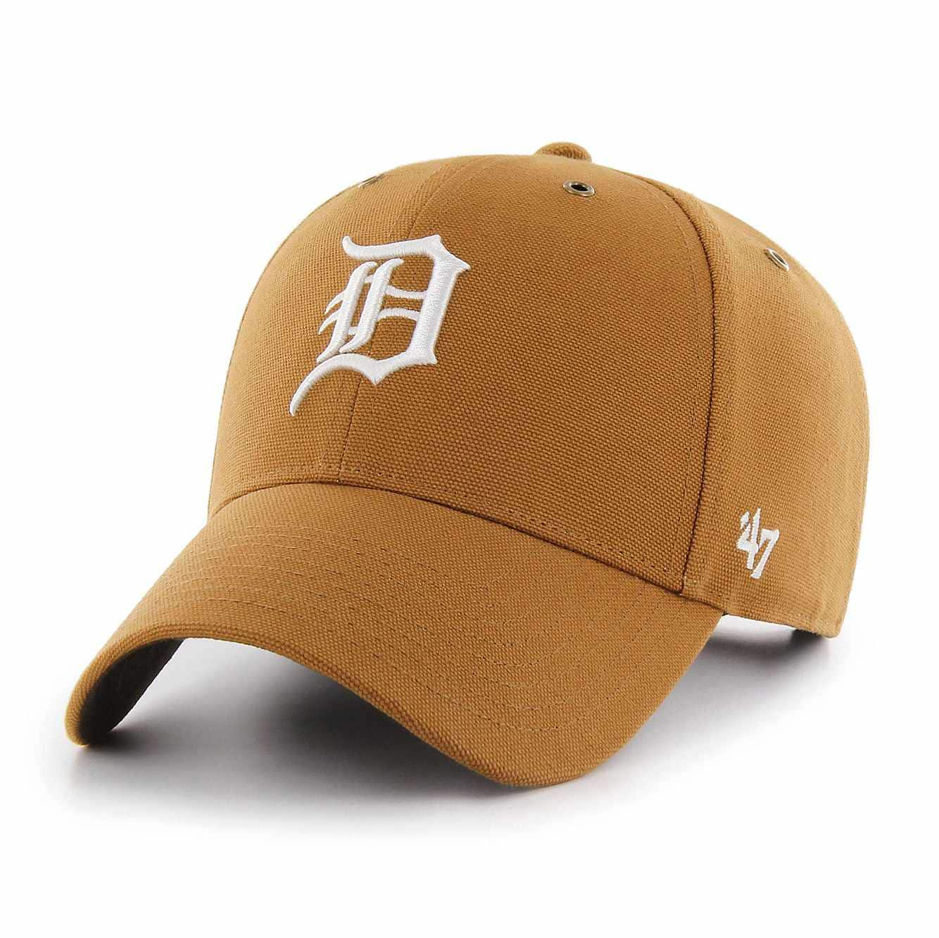 Picture of Detroit Tigers Carhartt x '47 MVP in Carhartt Brown