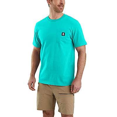 Carhartt  Black Hurley x Carhartt Men's T-Shirt - back