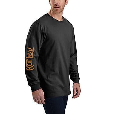 Carhartt  Carhartt Brown Hurley x Carhartt Unisex Long-Sleeve T-Shirt - front