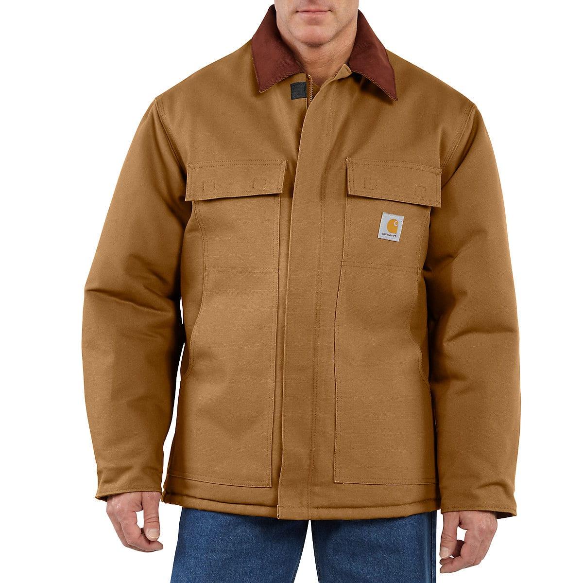 Men S Duck Traditional Arctic Quilt Lined Coat C003 Carhartt [ 1199 x 1200 Pixel ]