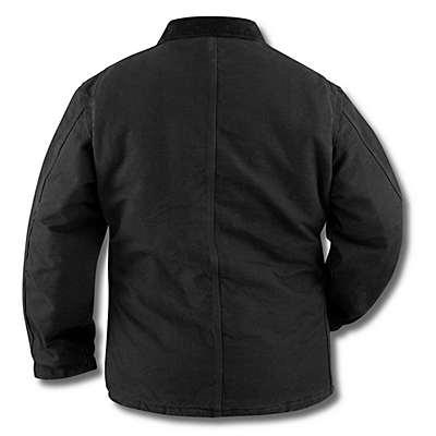 Carhartt Men's Moss Sandstone Traditional Coat / Arctic Quilt Lined - back