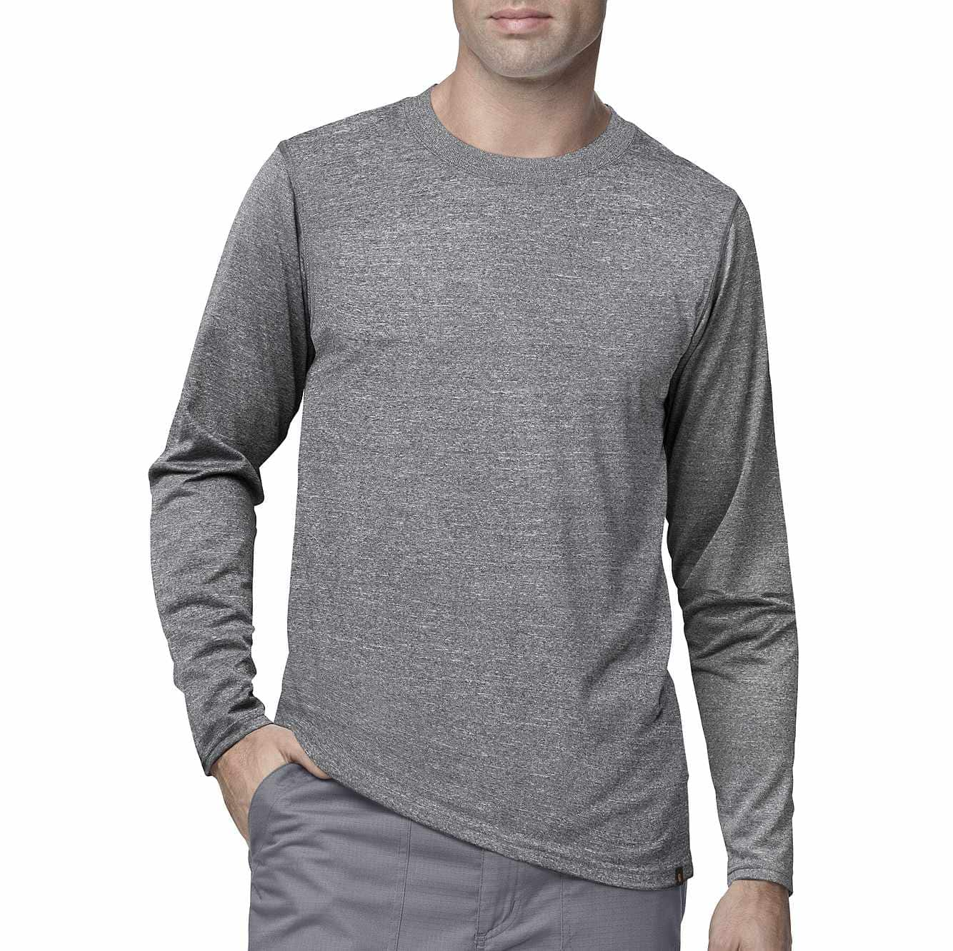 Picture of Work-Dry® Long-Sleeve Sub-Scrub in Heather