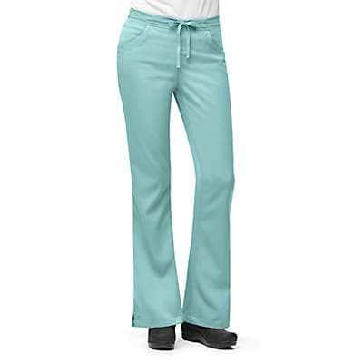 Carhartt Women's Marine 3-Pocket Flare-Leg Scrub Pant - front