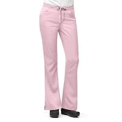 Carhartt Women's Petal 3-Pocket Flare-Leg Scrub Pant - front