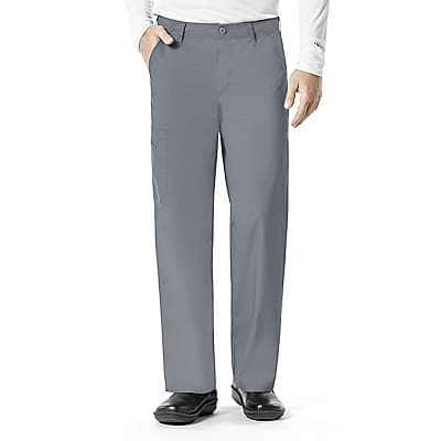 Carhartt Men's PEW-Pewter Multi-Pocket Cargo Pant - front