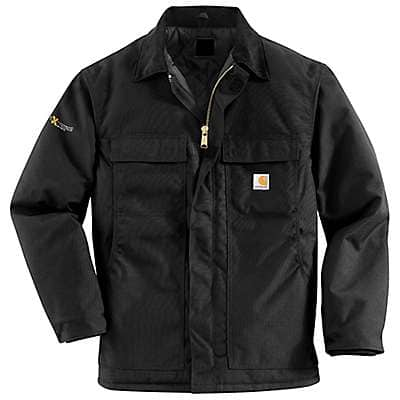 Carhartt  Black Yukon Extremes® Coat/Arctic Quilt-Lined - front