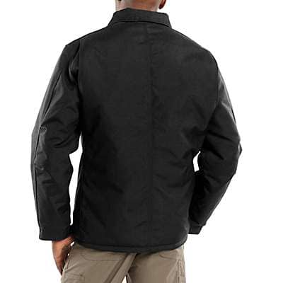 Carhartt Men's Black Yukon Extremes® Coat/Arctic Quilt-Lined - back