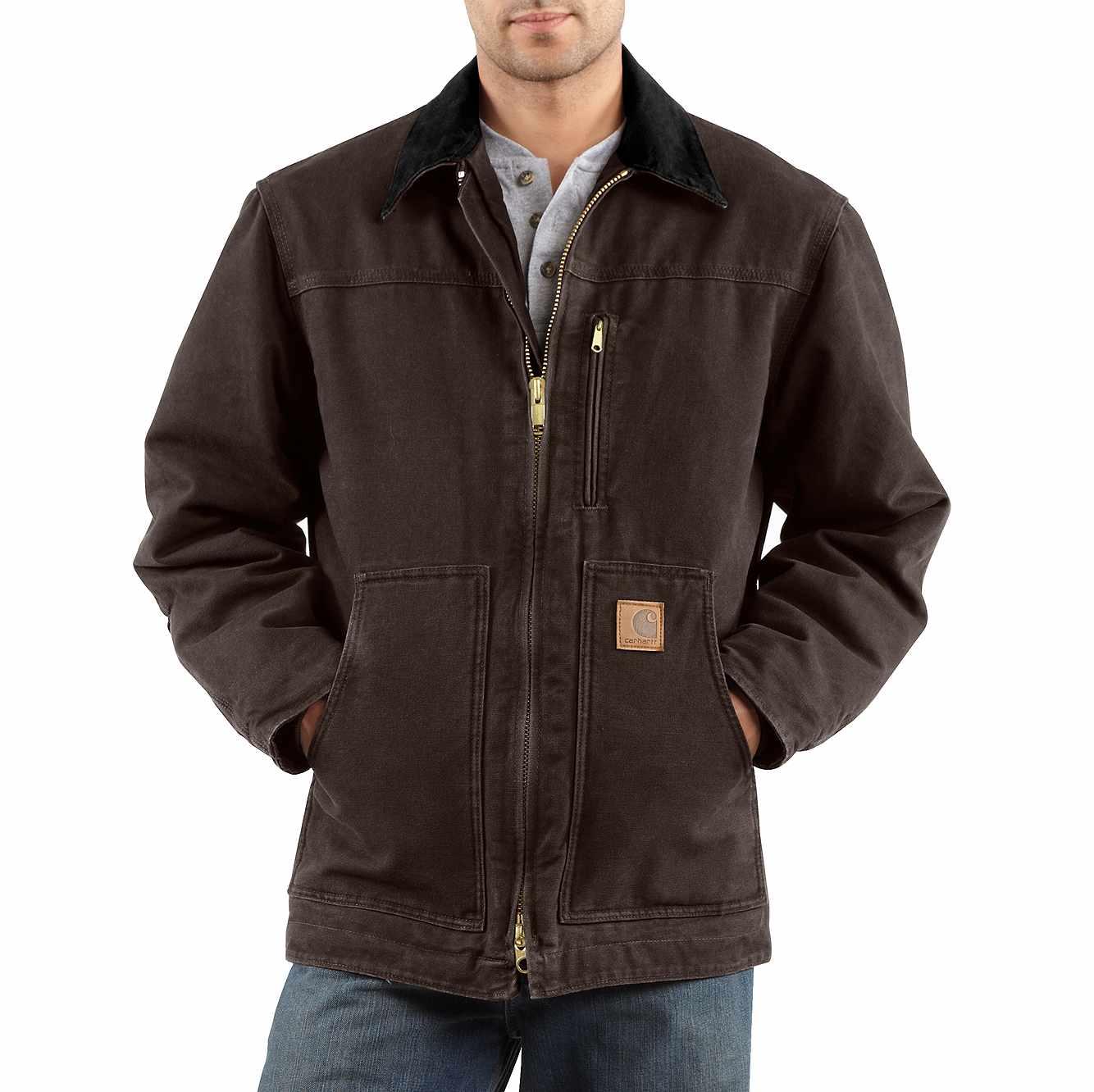 Carhartt Jacke Sandstone Traditional Jacket Black