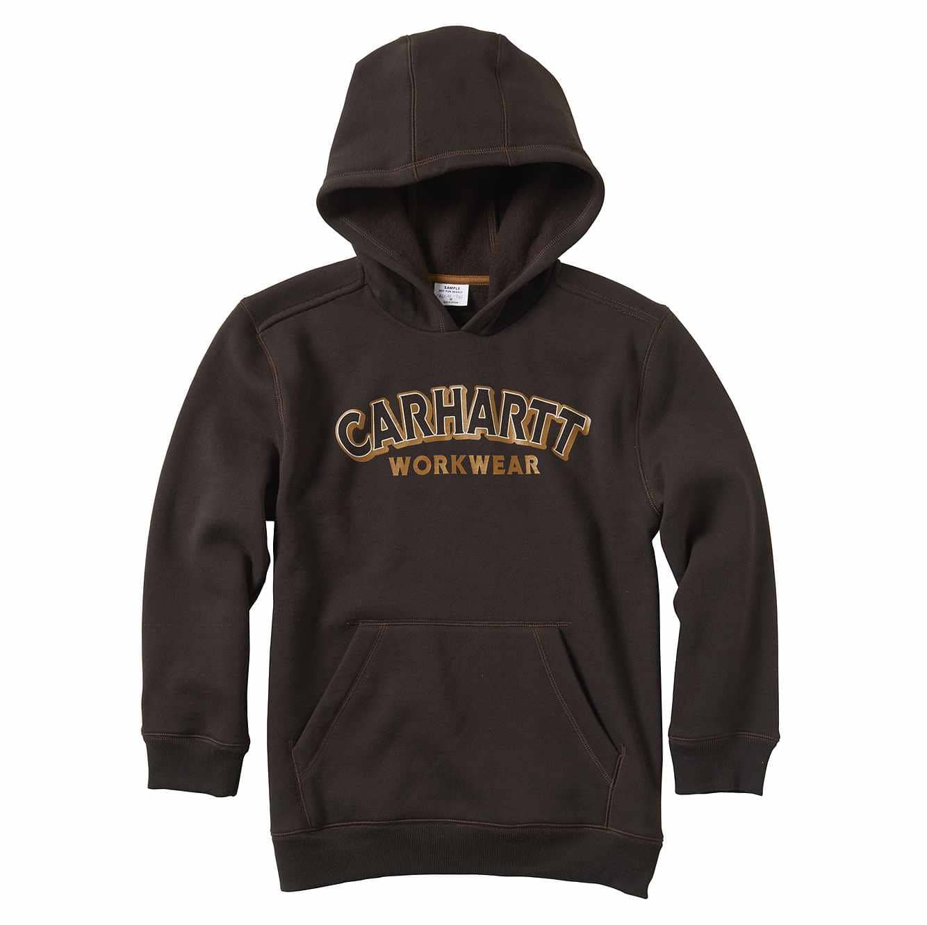 Picture of Carhartt Workwear Sweatshirt in Mustang Brown
