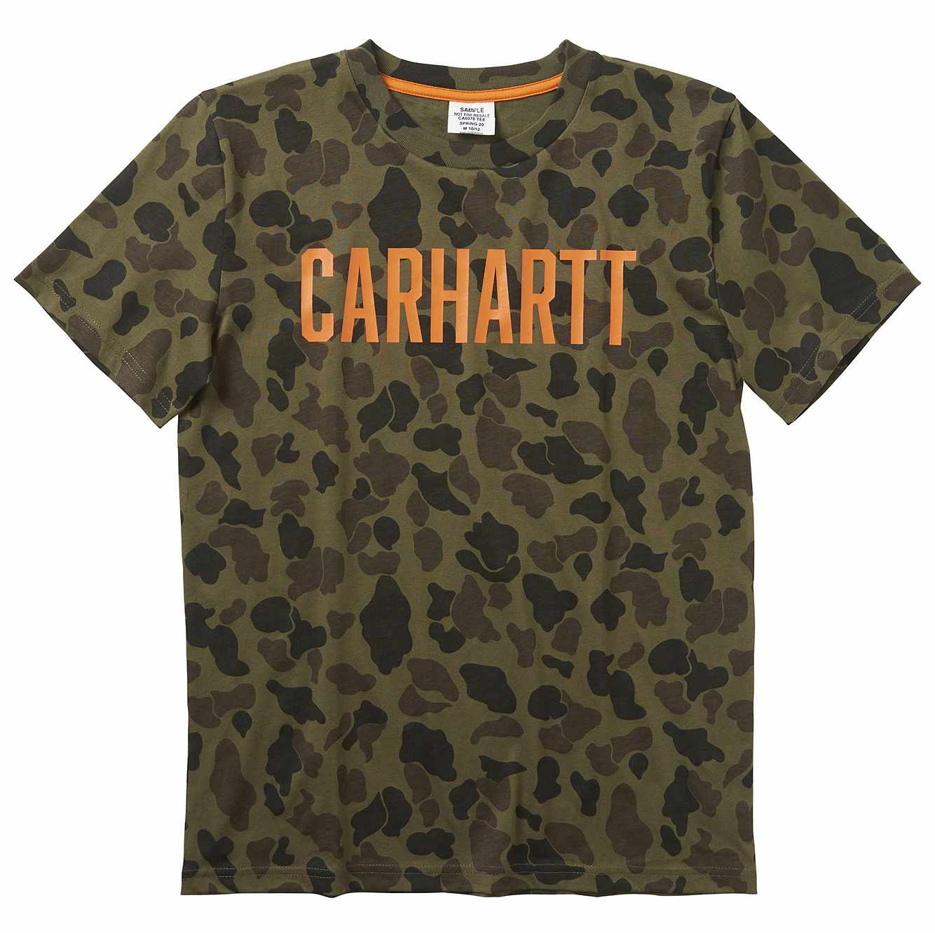 Picture of Camo Tee in Green Duck Camo