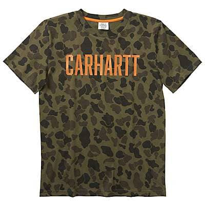 Carhartt Kid's Mossy Oak Camo Tee