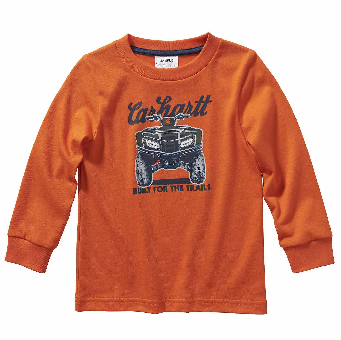 Picture of Long Sleeve Built For The Trails Tee in Carhartt Blaze Orange