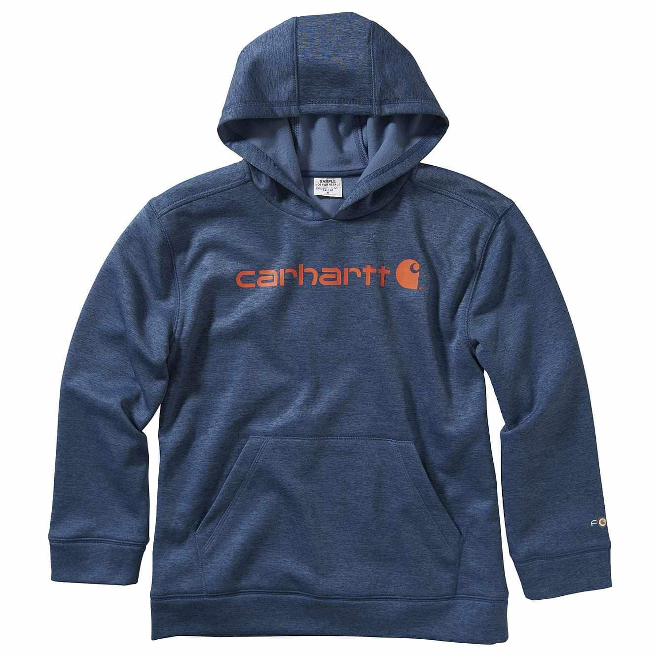 Picture of Long Sleeve Force Signature Sweatshirt in Dark Denim Heather
