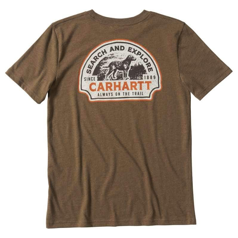 Carhartt  Canyon Brown Heather Outfish Them All Graphic T-Shirt
