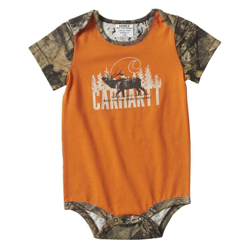 Carhartt  Mossy Oak Camo Elk Bodyshirt