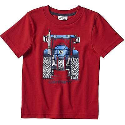 Carhartt Kid's Tango Red Equipment Stack Graphic T-Shirt