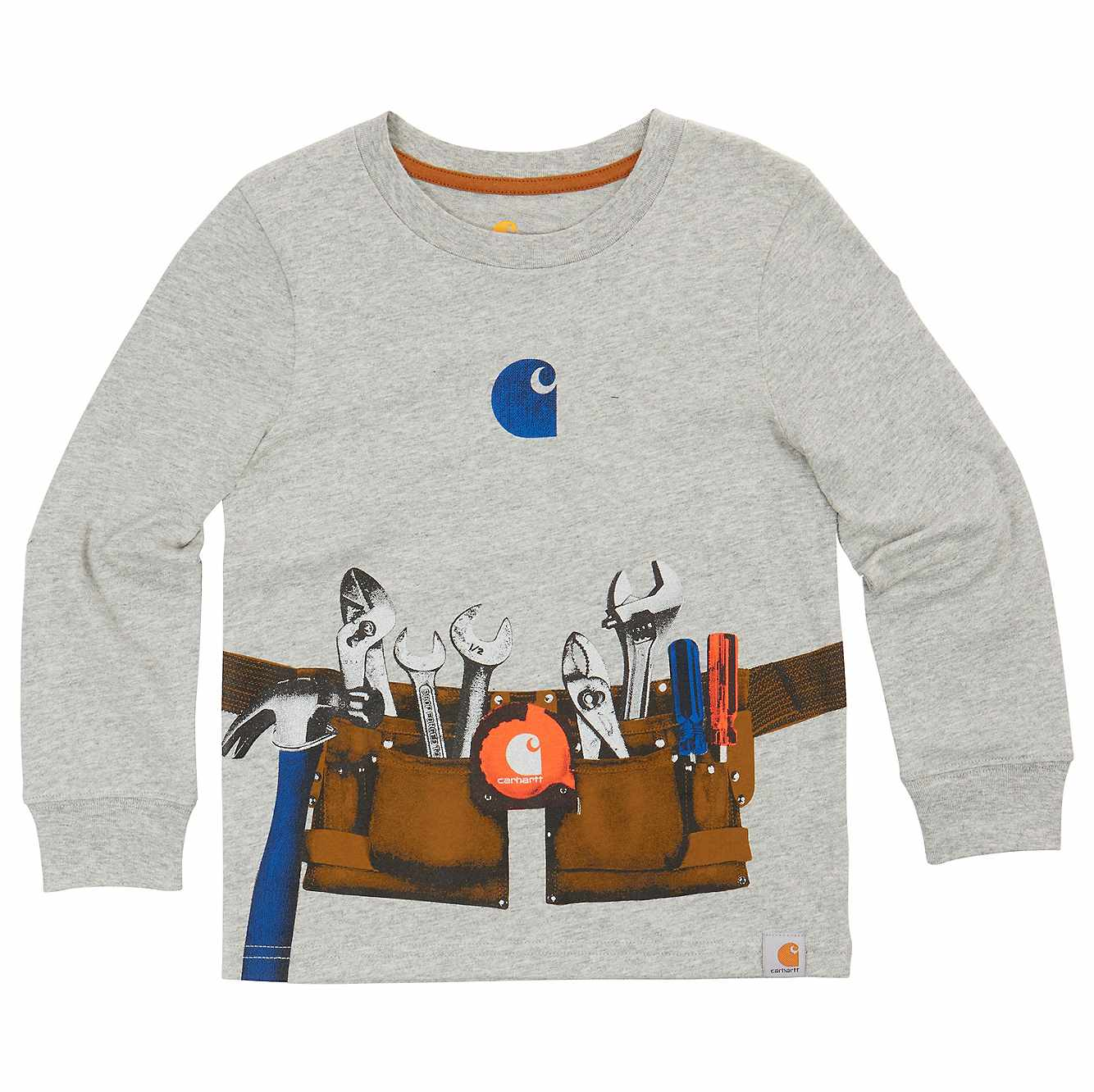 Picture of Long Sleeve Toolbelt Tee in Grey Heather