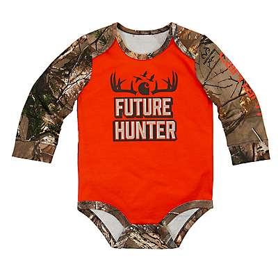 Carhartt Boys' Blaze Orange Future Hunter Bodyshirt - front