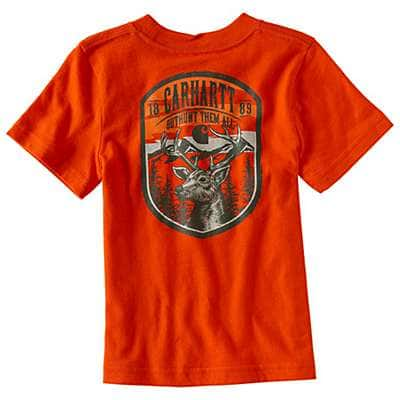 Carhartt Boys' Orange Outhunt Them All T-Shirt - front