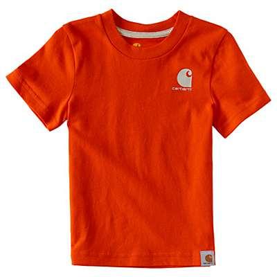 Carhartt Boys' Orange Outhunt Them All T-Shirt - back