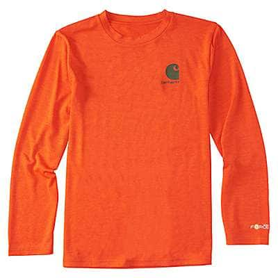Carhartt Boys' Orange.com Heather Force® Get Outdoors Tee - front