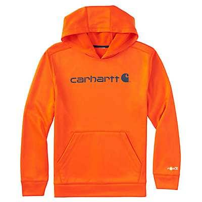 Carhartt Boys' Galaxy Blue Force® Logo Sweatshirt - front