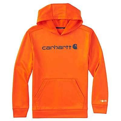 Carhartt Boys' Galaxy Blue Force® Logo Sweatshirt - front
