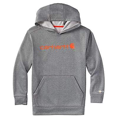 Carhartt Boys' Granite Heather Force® Signature Sweatshirt - front
