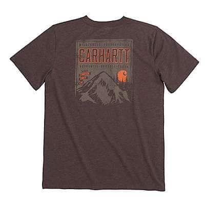 Carhartt Boys' Mustang Brown Heather Carhartt Wilderness Tee - front