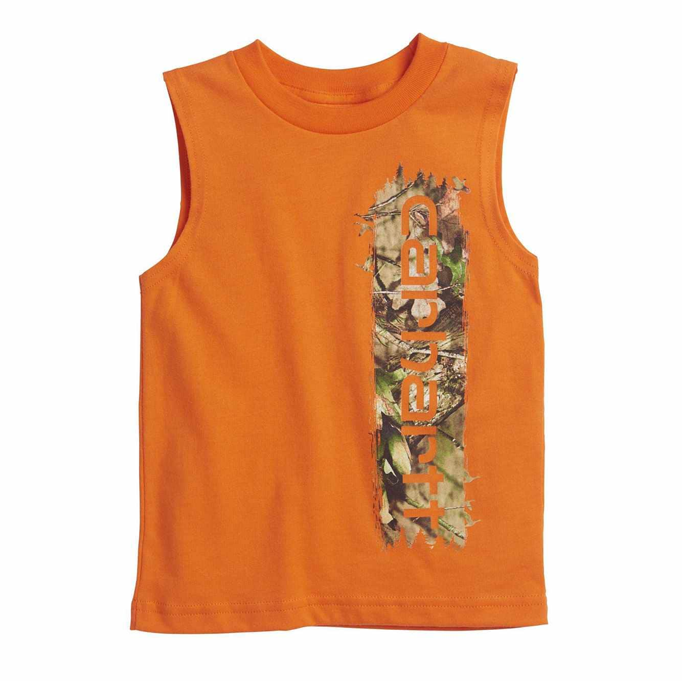 Picture of Camo Filled Tee in Blaze Orange