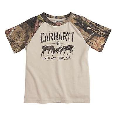 Carhartt Boys' Mossy Oak Outlast Them All Tee - front