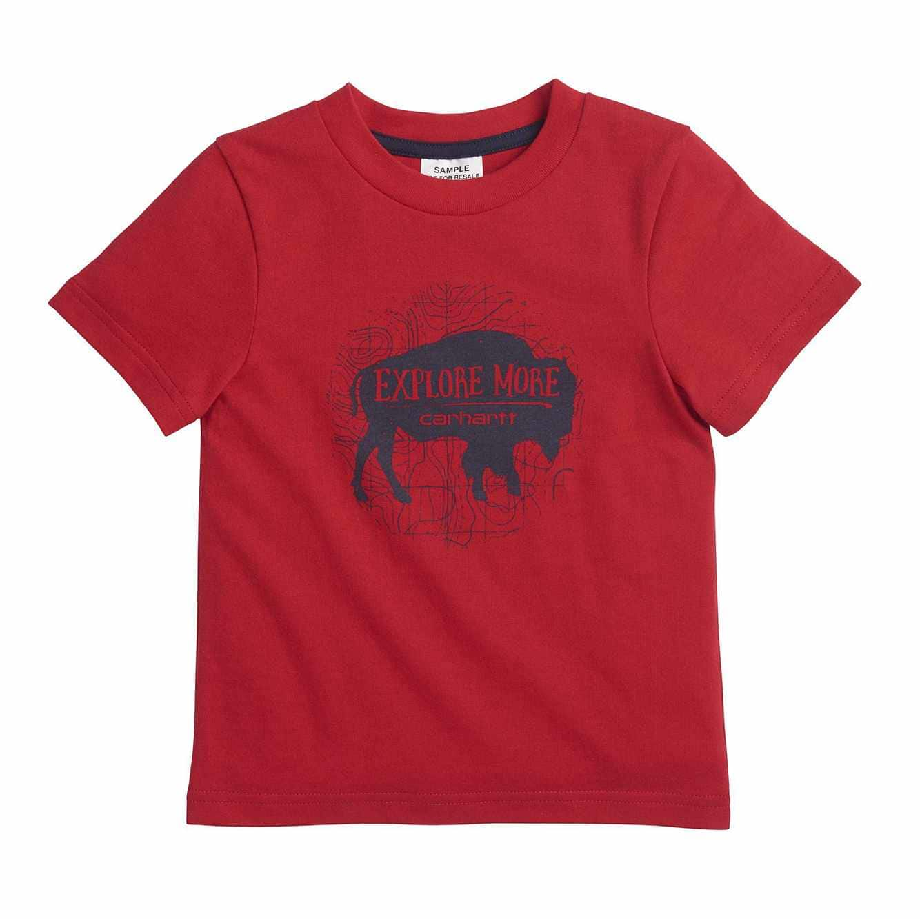 Picture of Explore More Tee in Tango Red