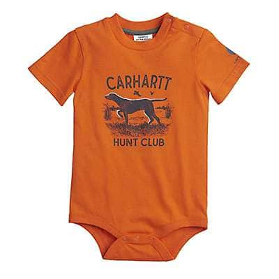 Carhartt Boys' Blaze Orange Hunt Club Bodyshirt - front