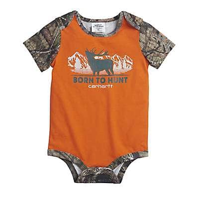 Carhartt Boys' Mossy Oak Born to Hunt Bodyshirt - front