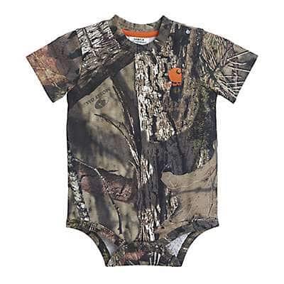 Carhartt Boys' Mossy Oak Camo Bodyshirt - front