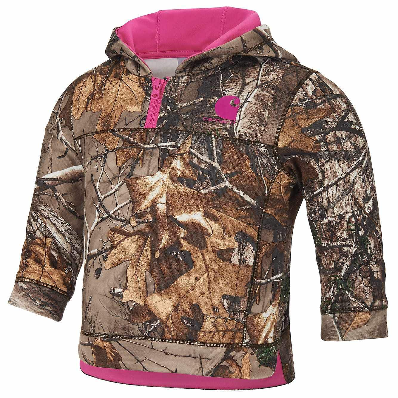 Picture of Realtree Xtra® Hooded Quarter Zip Hoodie in Realtree Xtra